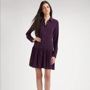 Theory Failly / Rove Ruffled Dress Button Down